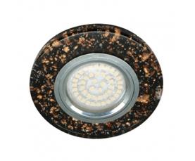 Светильник встраиваемый, 15*2835 SMD, MR16 50W G5.3, черный-золото, серебро, 8585-2 FERON
