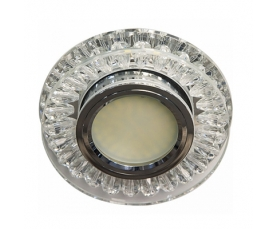 Светильник встраиваемый 15*2835 SMD, MR16 50W G5.3, прозрачный, прозрачный , C1015MO FERON