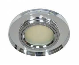 Светильник встраиваемый 12*3014 SMD MR16 12V 50W G5.3, серебро, серебро, 8060-2 FERON