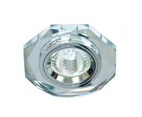 Светильник встраиваемый 12*3014 SMD MR16 12V 50W G5.3, серебро, серебро, 8020-2 FERON
