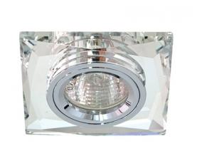 Светильник встраиваемый 12*3014 SMD MR16 12V 50W G5.3, серебро, серебро, 8150-2 FERON