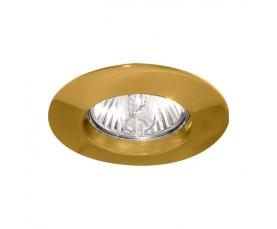 Светильник потолочный, MR11 G4.0 золото, DL110А FERON