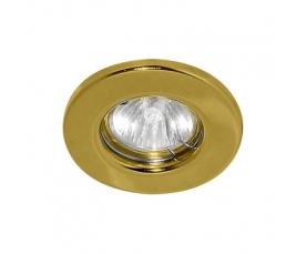 Светильник потолочный, MR16 G5.3 золото, DL10 FERON