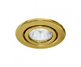 Светильник потолочный, MR16 G5.3 золото, DL11 FERON