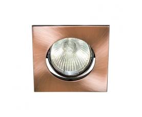 Светильник потолочный, MR16 G5.3 античная медь, DL2010 FERON