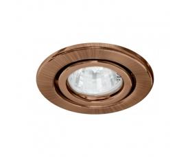 Светильник потолочный, MR16 G5.3 античная медь, DL11 FERON
