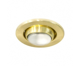 Светильник потолочный, R50 E14 матовое золото-хром,1729 FERON