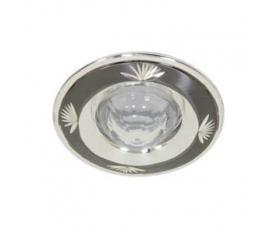 Светильник потолочный, MR11 G4.0 черное серебро, DL1011 FERON