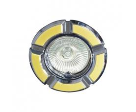 Светильник потолочный, MR16 G5.3 золото-хром, 098Т-MR16 FERON