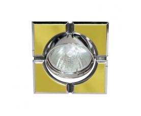 Светильник потолочный, MR16 G5.3 золото-хром, 098T-MR16-S FERON