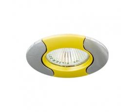 Светильник потолочный, MR16 G5.3 золото-хром, 020Т-MR16 FERON