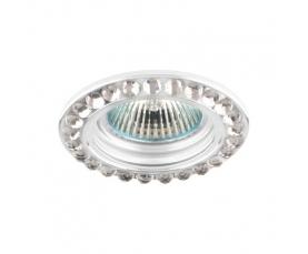 Светильник потолочный  MR16 MAX50W 12V G5.3, прозрачный, белый, DL111-C FERON