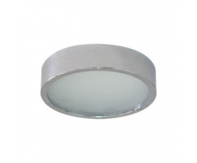 Светильник потолочный, MR16 G5.3 с матовым стеклом, хром, DL206 FERON