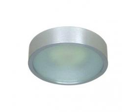Светильник потолочный, MR16 G5.3 с матовым стеклом, хром, DL207 FERON