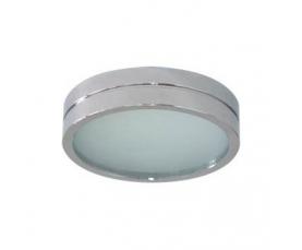 Светильник потолочный, MR16 G5.3 с матовым стеклом, хром, DL208 FERON