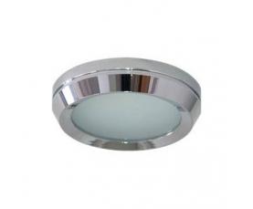 Светильник потолочный, MR16 G5.3 с матовым стеклом, хром, DL209 FERON