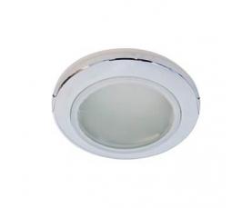 Светильник потолочный, MR16 G5.3 с матовым стеклом, хром, DL202 FERON
