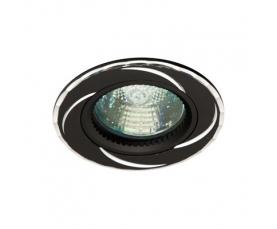 Светильник потолочный, MR16 G5.3 черный ,GS-M361BK FERON