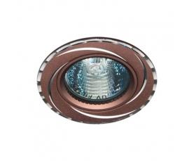 Светильник потолочный, MR16 50W G5.3 коричневый,GS-M361BR FERON