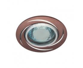 Светильник потолочный, MR16 50W G5.3 коричневый, GS-M362BR FERON