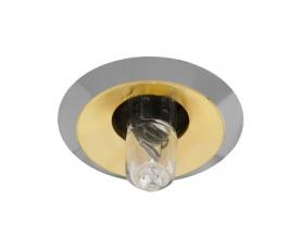Светильник потолочный, JC G4.0 золото-хром, 2754 FERON