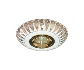 Светильник потолочный  MR16 MAX50W 12V G5.3  золото,белый, С2727 FERON