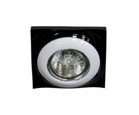 Светильник потолочный MR16 MAX50W 12V G5.3 белый, черный DL103R FERON
