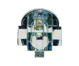 Светильник потолочный, JCD G9 с многоцветным стеклом, хром, с лампой, C1037A FERON