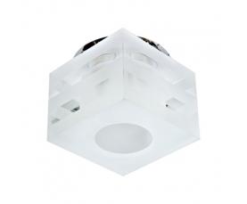 Светильник потолочный, JCD9  G9 с матовым стеклом, хром, C1006MO FERON