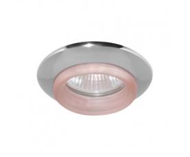 Светильник потолочный, MR16 G5.3 хром красный, 730С-W FERON