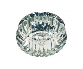 Светильник потолочный,JCD9 35W G9, прозрачный,хром, с лампой, С1010 FERON