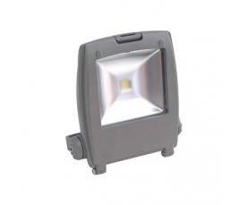 Прожектор светодиодный 1LED*30W 6400K 230V серый IP65 LL127 Feron