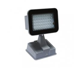 Прожектор светодиодный 45LED*0.06W белый 230V серебрянный IP54 LL153 Feron