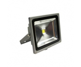 Прожектор светодиодный c датчиком 1LED*50W белый 230V серый IP44 LL233 Feron