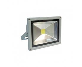 Прожектор светодиодный 1LED*20W 6500K 230V серый LL221 Feron