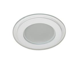 Встраиваемый светодиодный светильник AL2110, 6W, 480Lm, 4000K, белый