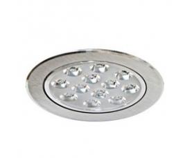 Светильник встраиваемый со светодиодами, 12 LED, 12 W, 230V, AL151