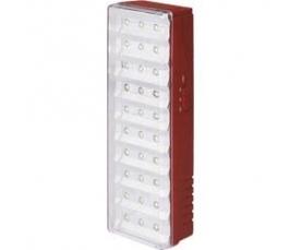 Светильник аккумуляторный 30 LED DC (свинцово-кислотная батарея) белый EL15 Feron