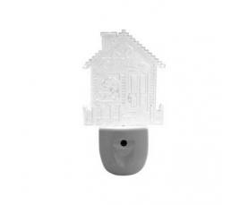 "Ночник ""дом"" 0.3W 230V, FN1104 Feron"