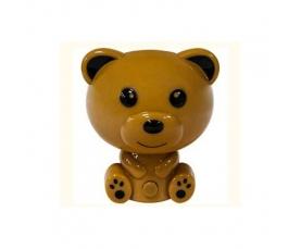 """Ночник """"медвежонок"""" 3LED 0.8W 230V коричневый, FN1006 Feron"""