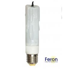 Лампа энергосберегающая ELC78 11W 230V E27 2700K свеча декоративная FERON