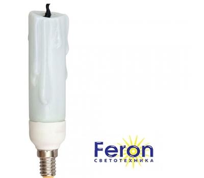 Лампы энергосберегающие ELC78 11W 230V E14 2700K свеча декоративная FERON