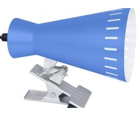 Настольная лампа R+C 8381 голубая Е-27