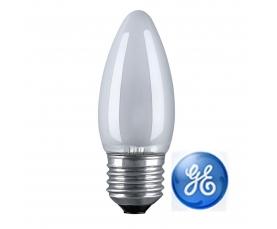 Лампа накаливания C1 40W FR 230V E27 GE