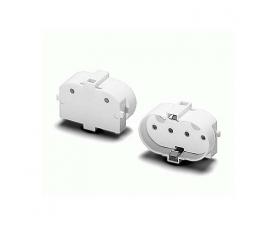 Электропатрон 2G11 10x47xh21 торцевое крепление М3-4 36051 VS