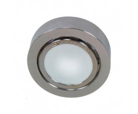 Светильник потолочный, MR16 G5.3 с матовым стеклом, алюминий, DL207 FERON