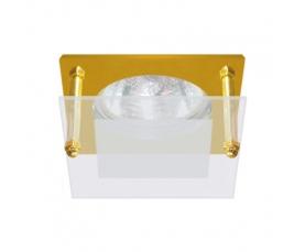 Светильник потолочный, MR16 G5.3 с матовым стеклом, алюминий, DL210 FERON