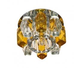 Светильник потолочный, MR16 G5.3 с матовым стеклом, золото, DL202 FERON
