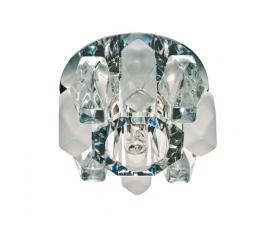 Светильник потолочный, MR16 G5.3 с матовым стеклом, титан, DL202 FERON