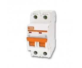 Автоматические выключатели ВА47-29 (характ. С) 20А 2П ТДМ